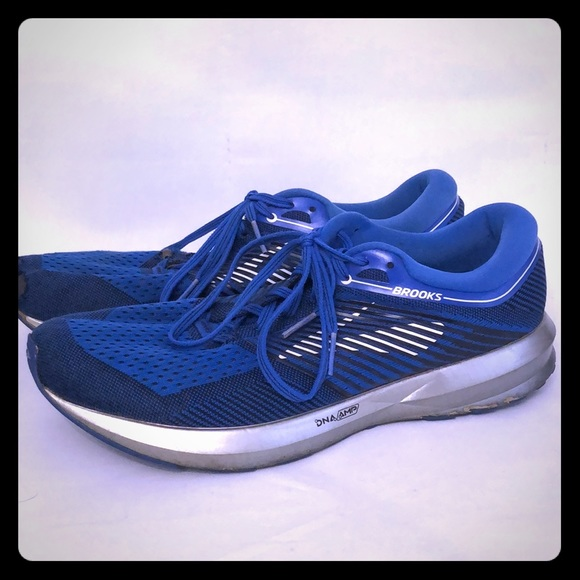 newest 52888 5aeab Brooks Levitate DNA Amp running shoe